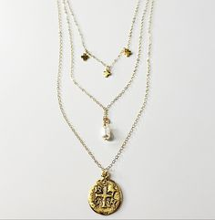 All Things - CB Jewelry 14 Karat Gold Chain, Catholic Jewelry, Confirmation Gifts, Christian Jewelry, Cross Earrings, Gold Cross, Gold Chains, Gifts For Mom, All Things