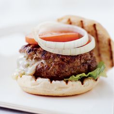 The gooey filling for these juicy burgers was inspired by the Mexican dip chile con queso, made with melted cheese and roasted chiles.    All-Time...