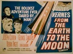 From the Earth to the Moon Movie Posters Original and Vintage