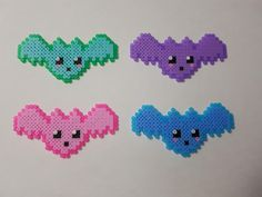 Watch out! When these bats come swooping from the skies, you won't be able to help but squeal at how cute they are! Wait... I meant... how scary they are?   1 cm x 3 cm  All tiny sprites come with keychains, which is included in the price.  Final product may vary slightly from photograph, as it