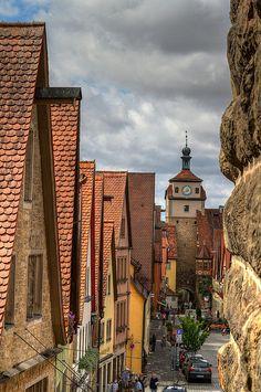 Rothenburg ob der Tauber Rothenburg ob der Tauber, Bavaria, DE