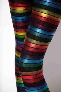 Rainbow Leggings › Black Milk Clothing preferred size m will go L
