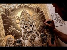 Eternal (2015) - Joe Fenton - For The Guillermo Del Toro Art Show - YouTube