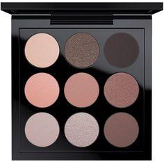 MAC Eye Shadow x 9 ($32) ❤ liked on Polyvore featuring beauty products, makeup, eye makeup, eyeshadow, dusky rose, palette eyeshadow, mac cosmetics eyeshadow and mac cosmetics