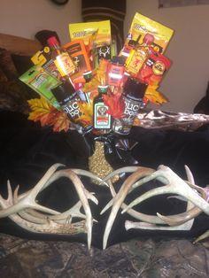 Hunting season eve man bouquet !!