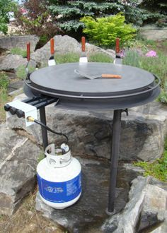 "MONGOLIAN GRILL - 32"" - Something new for the backyard Chef!"
