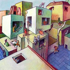 Galería De Abismo Arquitectónico En Las Ilustraciones De Cinta Vidal   25 |  Pinterest | Saga, Collage And Illustrations