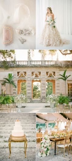 If romance and glamour are your cup of tea, then this Miami, Florida wedding is for you. via @stylemepretty