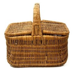 Wicker Picnic Basket, $55, now featured on Fab.