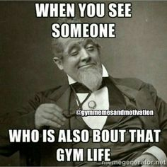 Haha right With optimal health often comes clarity of thought. Click now to visit my blog for your free fitness solutions!