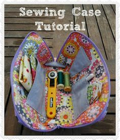 sewing case tutorial
