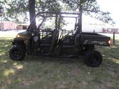 New 2017 Polaris Ranger Crew® 570-6 ATVs For Sale in South Carolina. Ranger® quality, legendary performance, and unmatched utility vehicle value Powerful 44-horsepower ProStar® EFI engine to take on any task Seating and cab comfort for 6
