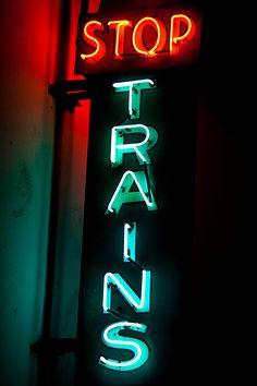 Stop Trains, Pasadena Ca