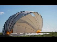 Ru Hartwell is raising funds for Mollusc - The Tent you Open and Close - on Kickstarter! A quantum shift in tent design Tent Design, Camping Glamping, Camping Ideas, Eco Architecture, Metal Tree, Design Strategy, Patio Roof, Green Building, Sustainable Design