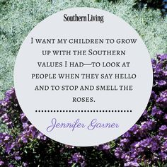 Fabulous quote from our March cover star, Jennifer Garner! Head over to SouthernLiving.com to see the complete interview.