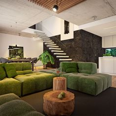 Modny III - dom parterowy z poddaszem użytkowym i garażem   doomo Barn House Plans, Architect House, Outdoor Furniture Sets, Outdoor Decor, Prefab Homes, Next At Home, House Design, Living Room, Interior Design