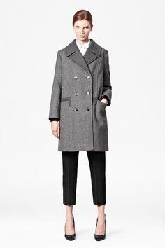 Benjamin Wool Double-Breasted Coat