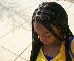 53 Box Braids Hairstyles That Rock - Hairstyles Trends What Are Box Braids, Cute Box Braids, Blonde Box Braids, Big Braids, Dookie Braids, Fishtail Braids, Plaits, Tree Braids Hairstyles, Rock Hairstyles