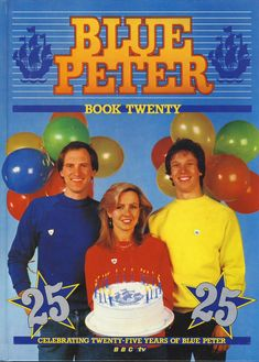 1983 Blue Peter Annual Book Twenty BBC TV Simon Peter Sarah on cover. Creases on cover. 1980s Childhood, Childhood Memories, Sarah Greene, Blue Peter, 80s Tv, 80s Kids, Vintage Tv, Great Memories, The Twenties