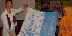 Sandra Niessen & Tanti Lusiani, @museumbatik Pekalongan director , Stephanie Belfrage's batik collection