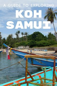 A travel guide to visiting Koh Samui, Thailand. Best things to do on one of Southeast Asia's most beautiful islands.   Blog by Travel Dudes: Community for Travelers, by Travelers!
