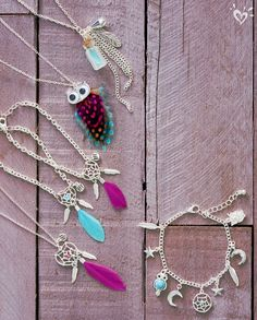 Add boho flair to any look with our necklaces and bracelets.