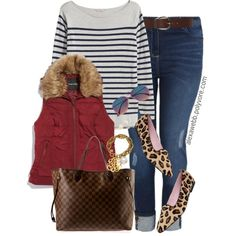 Plus Size - Preppy Stripes by alexawebb on Polyvore featuring H&M, maurices, Patricia Green, Louis Vuitton, John Wind, Kate Spade, Torrid, outfit, plussize and plussizefashion