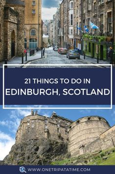 Things to Do in Edinburgh: Amazing architecture, world-class festivals, entertaining and informative tours, and a castle on a craggy cliff! via @onetripatatime Scotland Travel Guide, Travel Tips For Europe, Backpacking Europe, Ireland Travel, Scotland Trip, Europe Packing, Traveling Europe, Edinburgh Scotland, Packing Lists