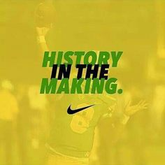 They aren't seeing history, they are MAKING it happen.