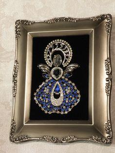 Vintage Jewelry Blue Angel