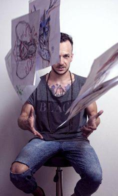 Peter Aurisch -Tattoo Genius I want this man.