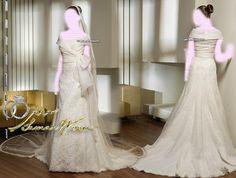 Saint Patrick , Sleeve Wedding Dresses Bridal Gown , Ivory SimPle Lace Chiffon Tulle, Idea , Jacket Bridal Wraps
