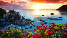 Sunset - Koh Samui Thailand