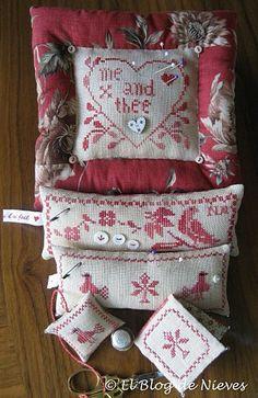 Inspiration: Blackbird Designs Mix II #cross-stitch #SewingAids