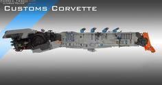 ULTARAN CUSTOMS OFFICER CORVETTE | by Pierre E Fieschi