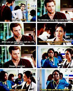 """I wanna take you to the hospital"" #ChicagoMed"