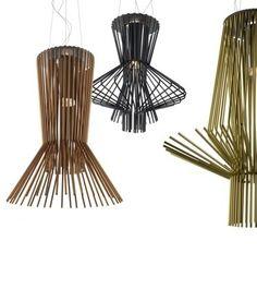 Great aluminum pendant lights by Foscarini. #lighting #design #homedecor