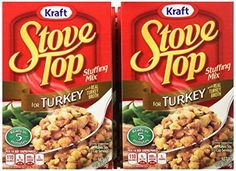 I love stove top stuffing.  There is something about the easy directions and great flavor that keeps me going back