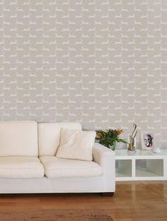 Jane Churchill March Hare Wallpaper - J135W-03 - Stone