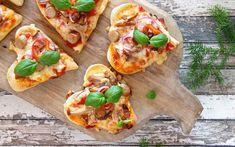 Julepizza - oppskrift