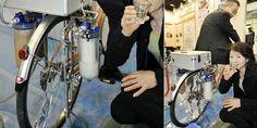 Japoneses inventam Bicicleta que pode filtrar água com energia da pedalada   Globos