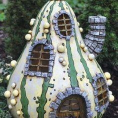 Fiddlehead-Fairy-Garden-Striped-Gourd-Fairy-Home-0