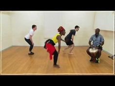 ▶ Five(ish) Minute Dance Lesson: African Dance: Lesson 2: Pelvic Isolation and Limb Throws - YouTube