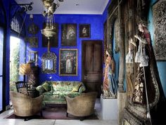 Falling in love with this blue *sigh* #interiors #love #interiordesign #home #inspiration #blue #arabic #style #horsham #business