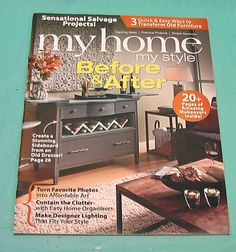 DIY Projects My Home Magazine Makeovers Office Kitchen Outdoors Indoors  Sept Oct