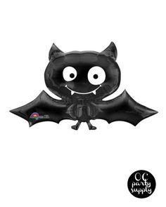 41 inch Black Bat Balloon Hotel Transylvania by OCPartySupply