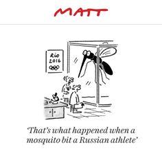 Matt cartoon, August 6