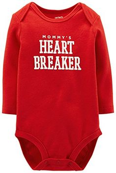 Carters Valntines Bodysuit Baby  Heartbreaker3 Months ** Details can be found by clicking on the image.