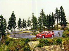 """pasionslot - El Circuito de Rally de un """"simple"""" aficionado al slot - Decoración y S&B de Circuitos"""