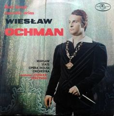 WIESŁAW OCHMAN BEST LOVED OPERATIC ARIAS  SX 0465